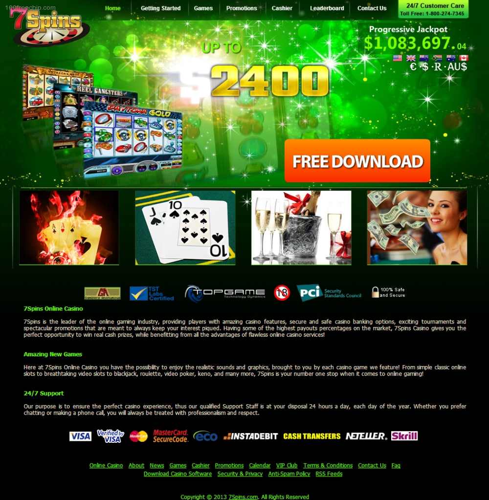 1 hour free spins casino