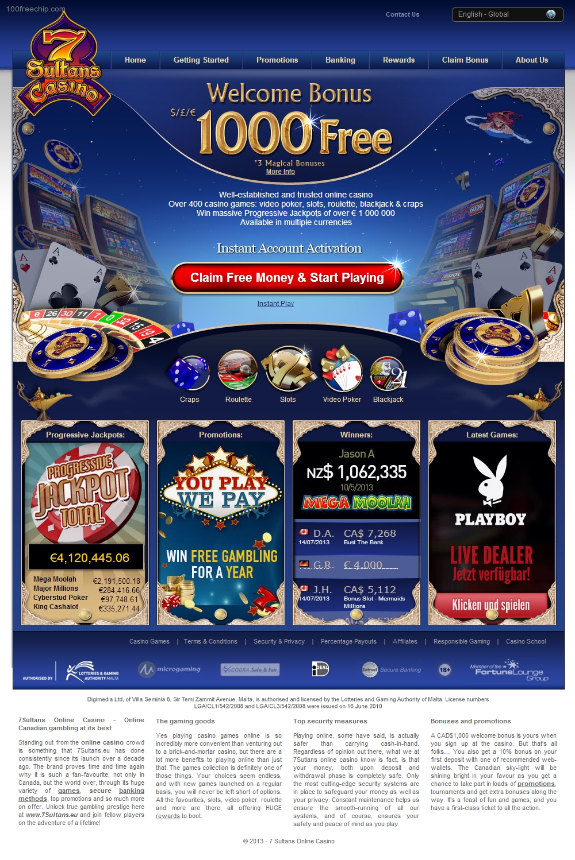 7 sultan casino
