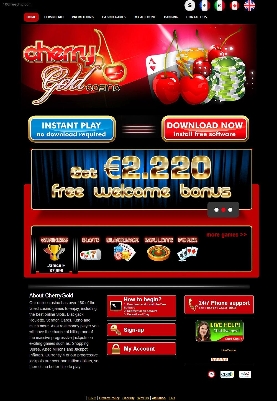 gutschein code cherry casino