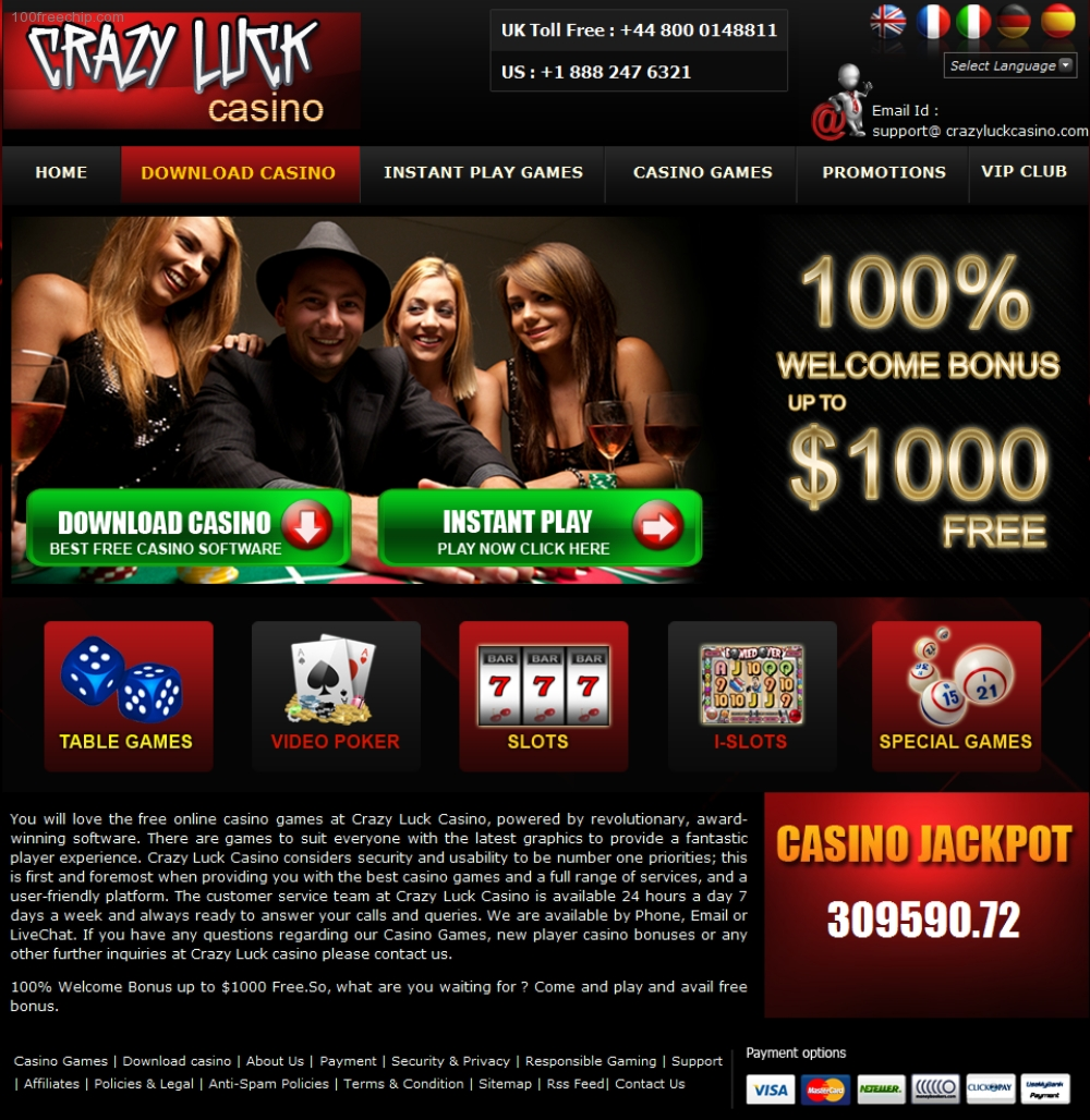 CasinoLuck Welcome Offer