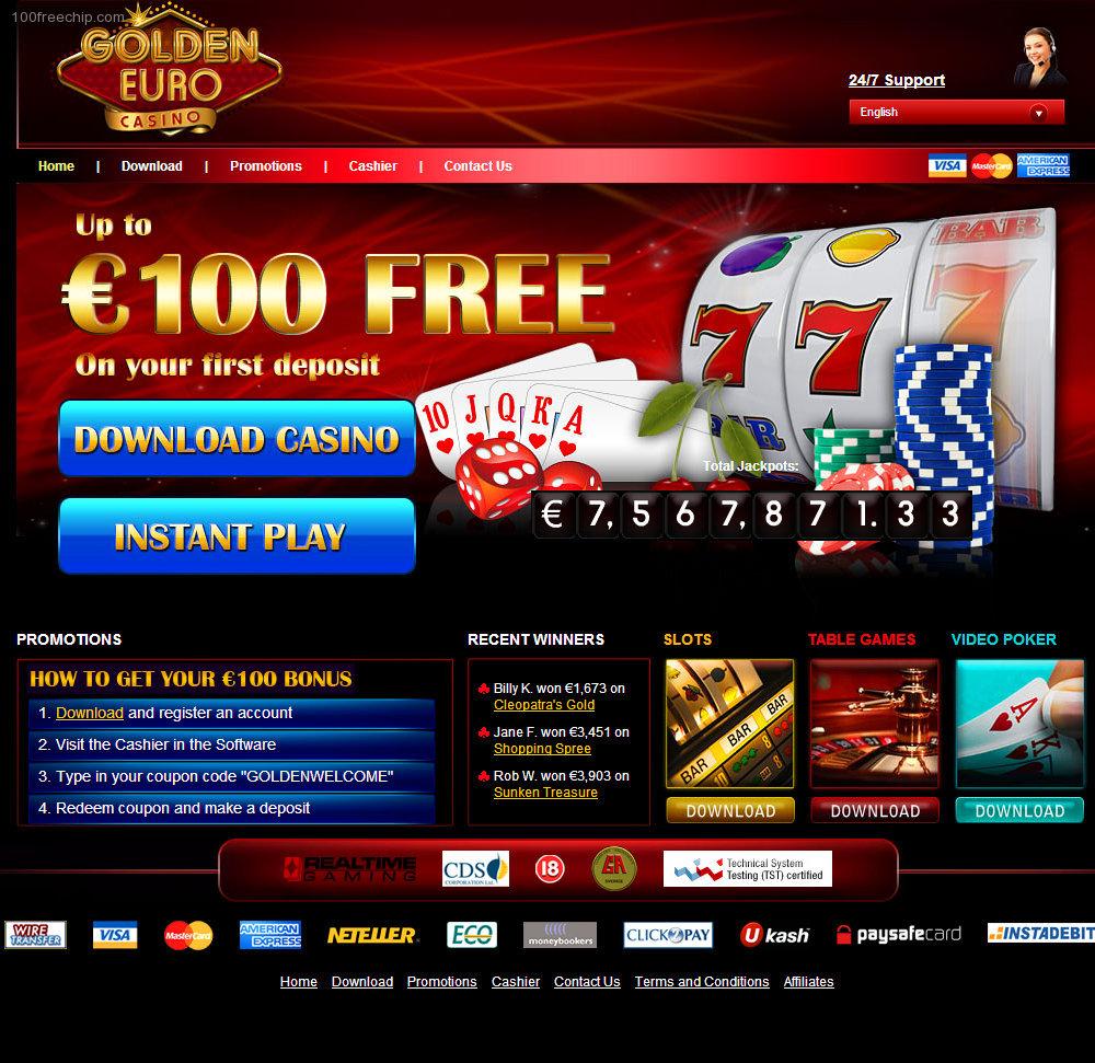 Casino 10 euro free no deposit