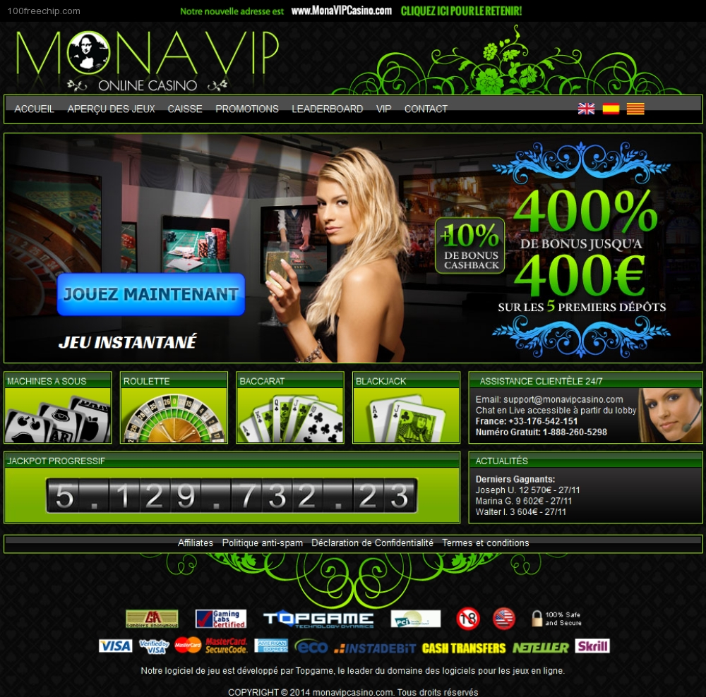 Casino en language online soth point hotel and casino