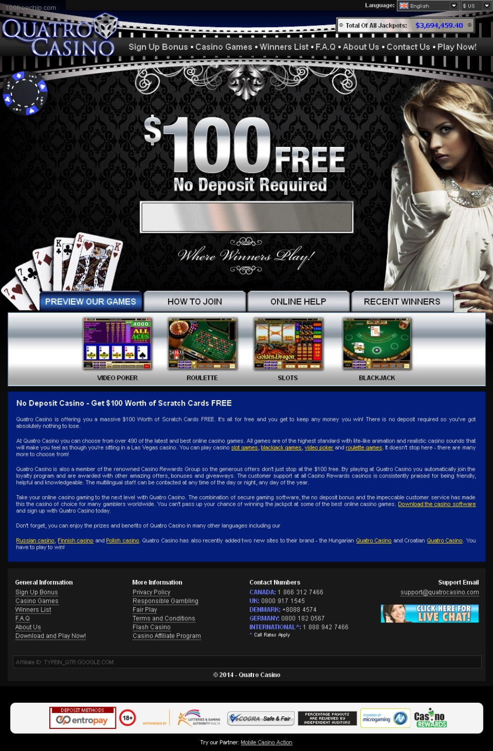 Quatro casino download make money online casino free