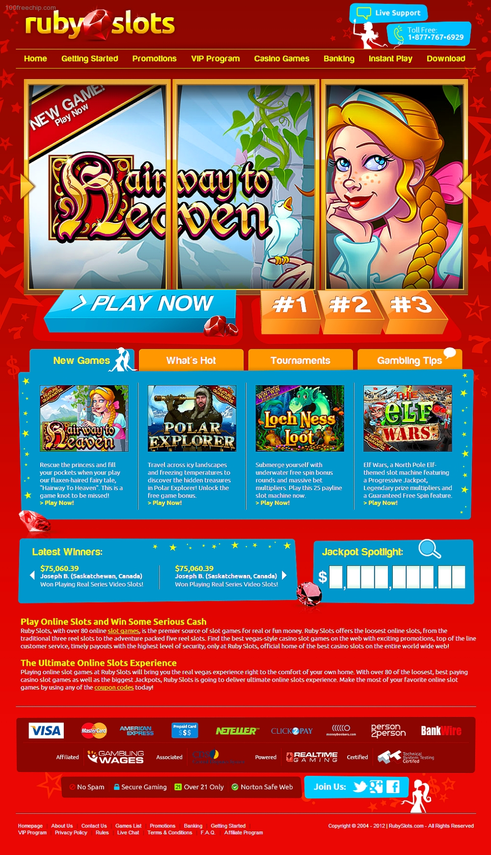 ruby slots casino $200 no deposit bonus codes 2019