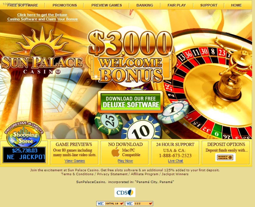 Sun palace online casino thesis gambling