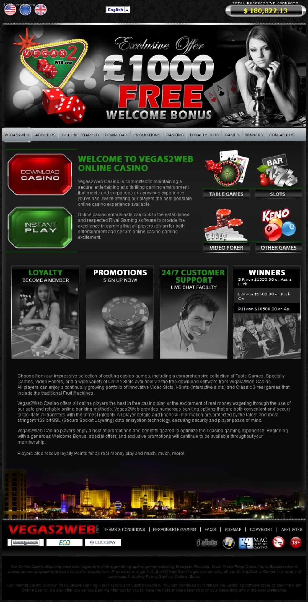 Rival gaming casino list